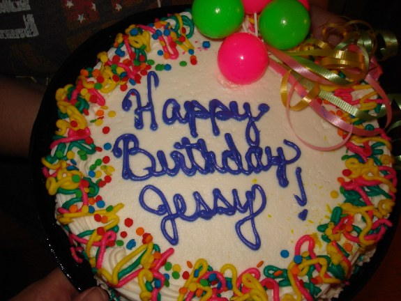 Happy Birthday Jessy The Mobile Home Woman