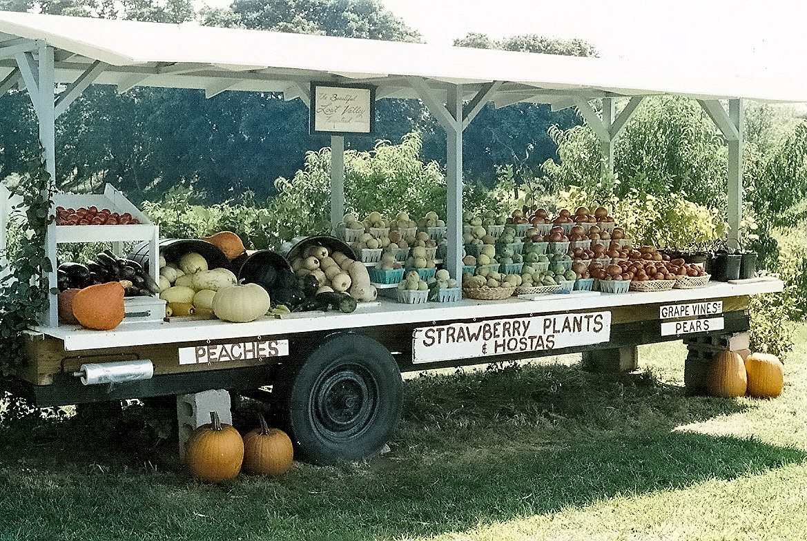 produce stand designs