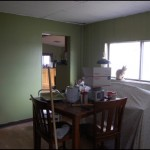This is the closest to the true color on the walls...  a sort of olive sage green.