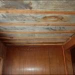 Ceiling damage!