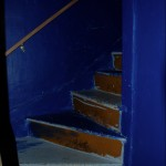 The scary stairs to Maggie's room