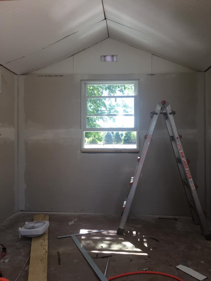 cottage drywall